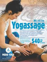 yogassage- yoga + massage